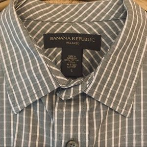 Banana Republic Shirts - Banana Republic Men's button down dress shirt